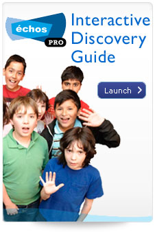 Launch the Echos Pro Discovery Guide