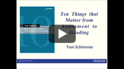 Professional Book Talk With Assessment Expert Tom Schimmer Screenshot