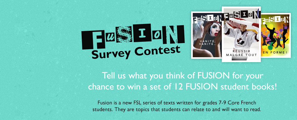 FUSION contest: Enter the FUSION contest