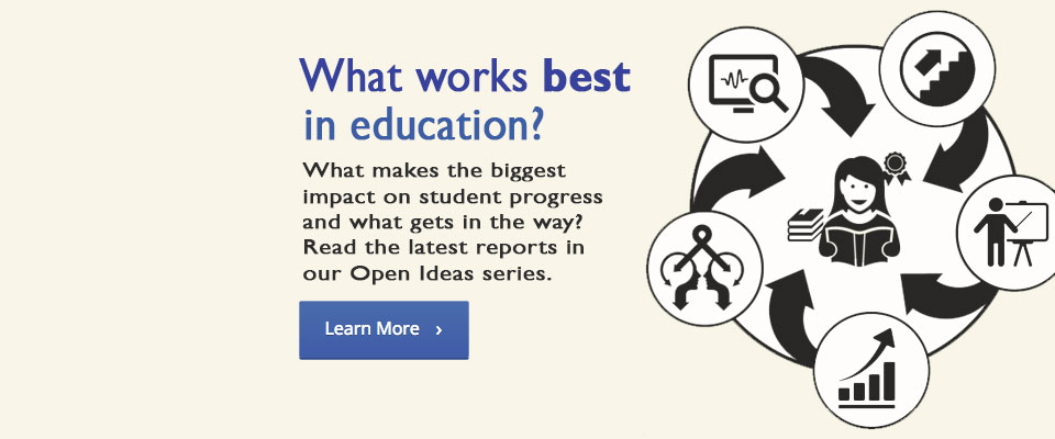 Pearson Open Ideas: Read the latest reports in our Open Ideas series.