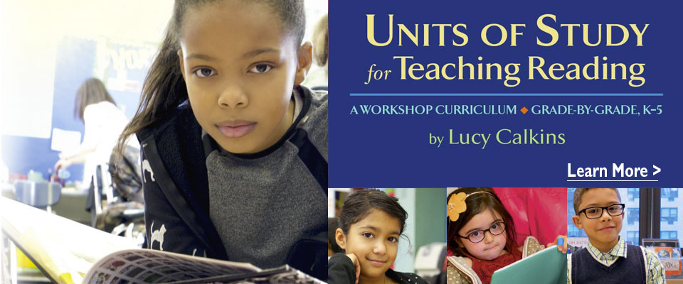 Lucy Calkins: Units of Study for Teaching Reading by Lucy Calkins