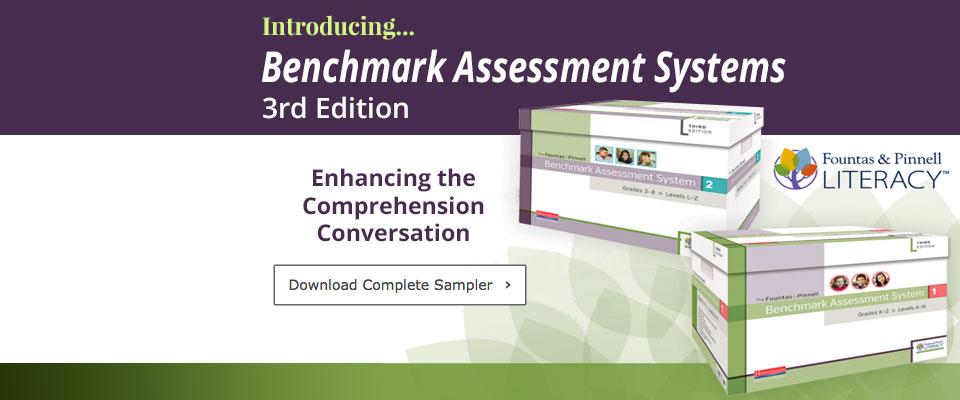 Benchmark Assessment: Benchmark Assessment System 3rd Edition Now Available