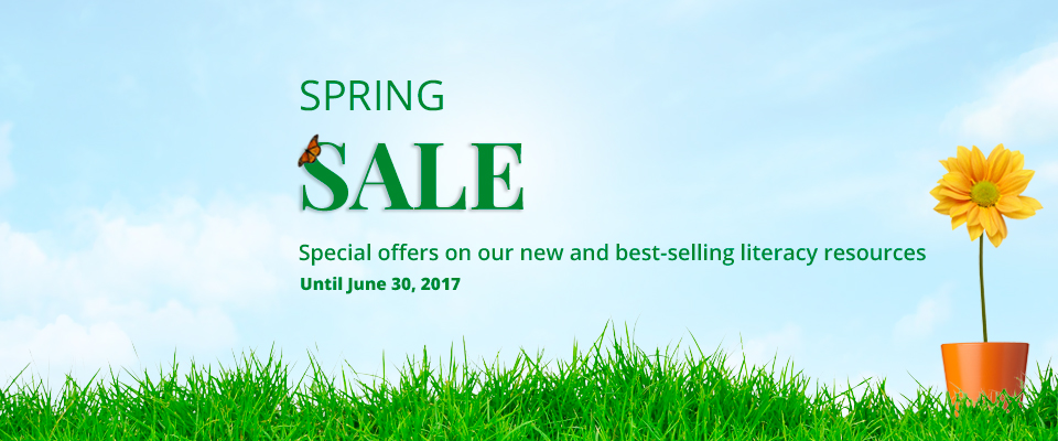 Spring Literacy Sale 2017: Special offers on our new and best-selling literacy resources