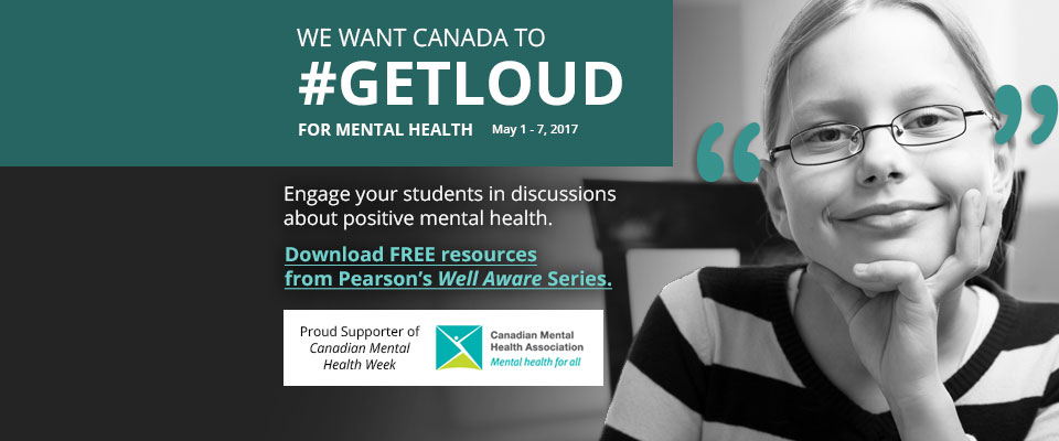 Mental Health Week 2017: #GETLOUD and talk openly and honestly about mental health