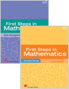 First Steps in Mathematics [cover]