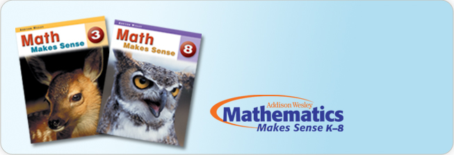 Math Makes Sense - Addison Wesley Ontario Edition, K-8
