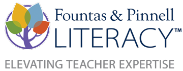 The Fountas & Pinnell Literacy Continuum, Expanded Edition: A Tool for Assessment, Planning, and Teaching, PreK-8 logo