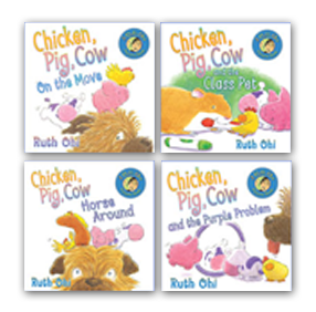 Annick Classics: Chicken, Pig, Cow