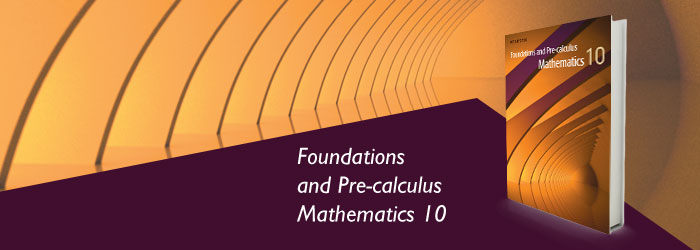 Foundations and Pre-calculus Mathematics 10