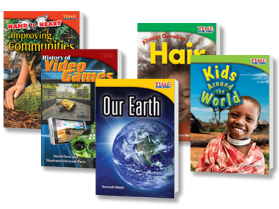PearsonSchoolCanada ca - TIME FOR KIDS® Nonfiction Readers