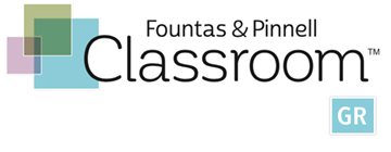 Fountas & Pinnell Classroom - Guided Reading Collections logo