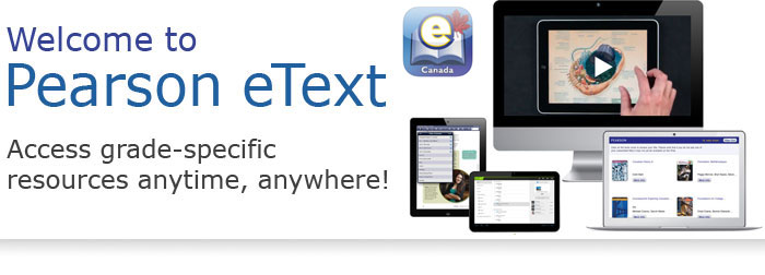 Pearsonschoolcanada pearson etext etext ipad app pearson etext fandeluxe Image collections