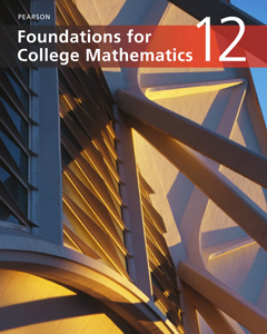 Pearson Foundations for College Mathematics 12