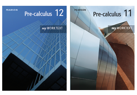 Pre-calculus 11 and 12